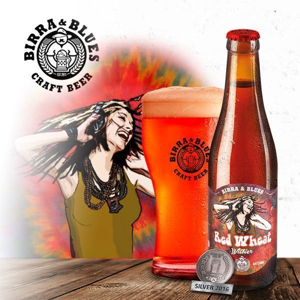 Cerveza Artesana RED WHEAT Witbier