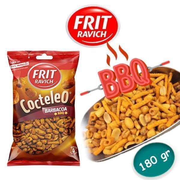 Cocktail frutos secos sabor BBQ FRIT RAVICH 180 GR