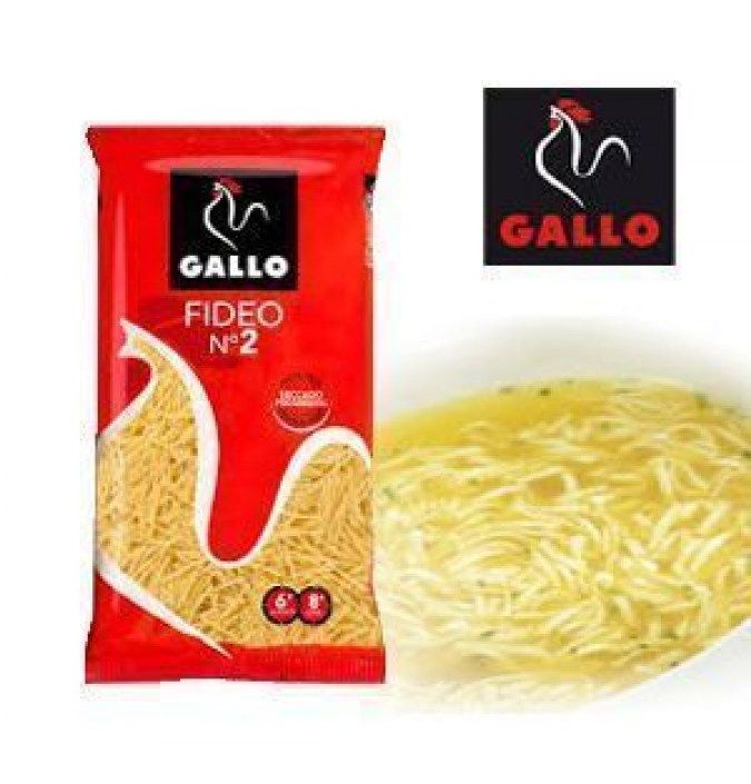 Fideo Nº 2 GALLO 250 GR