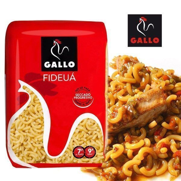 Fideo fideuá GALLO 500 GR