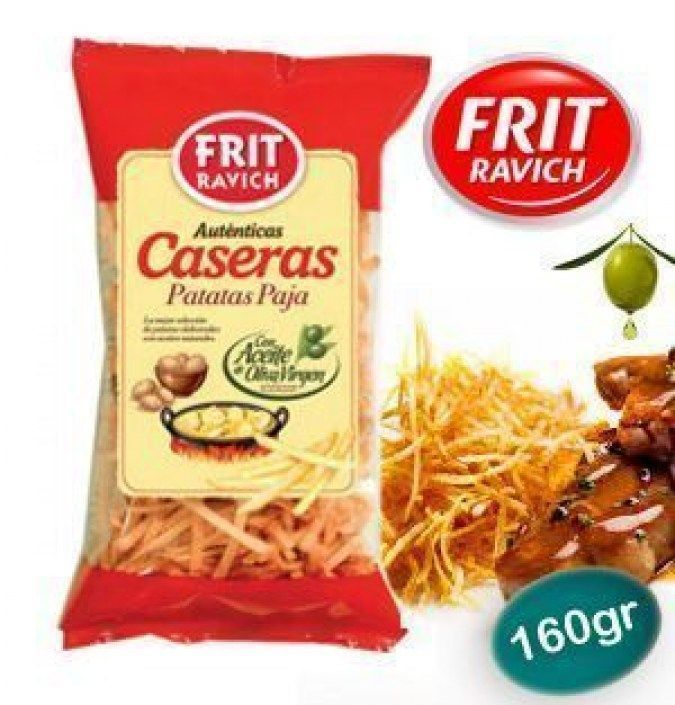 Chips caseras aceite oliva paja FRIT RAVICH 160 GR