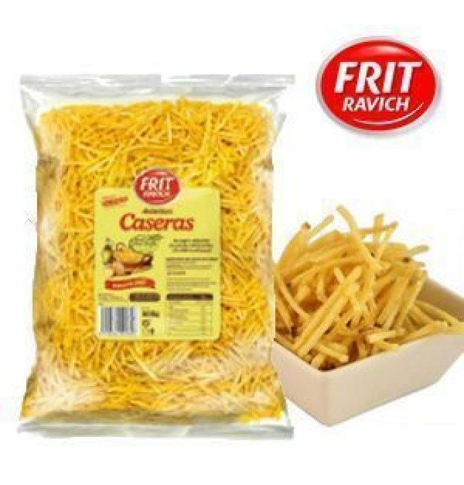 Chips caseras aceite oliva paja FRIT RAVICH 500 GR