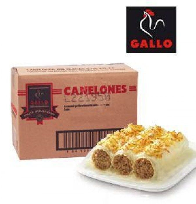 Placas de canelones GALLO 3750 GR